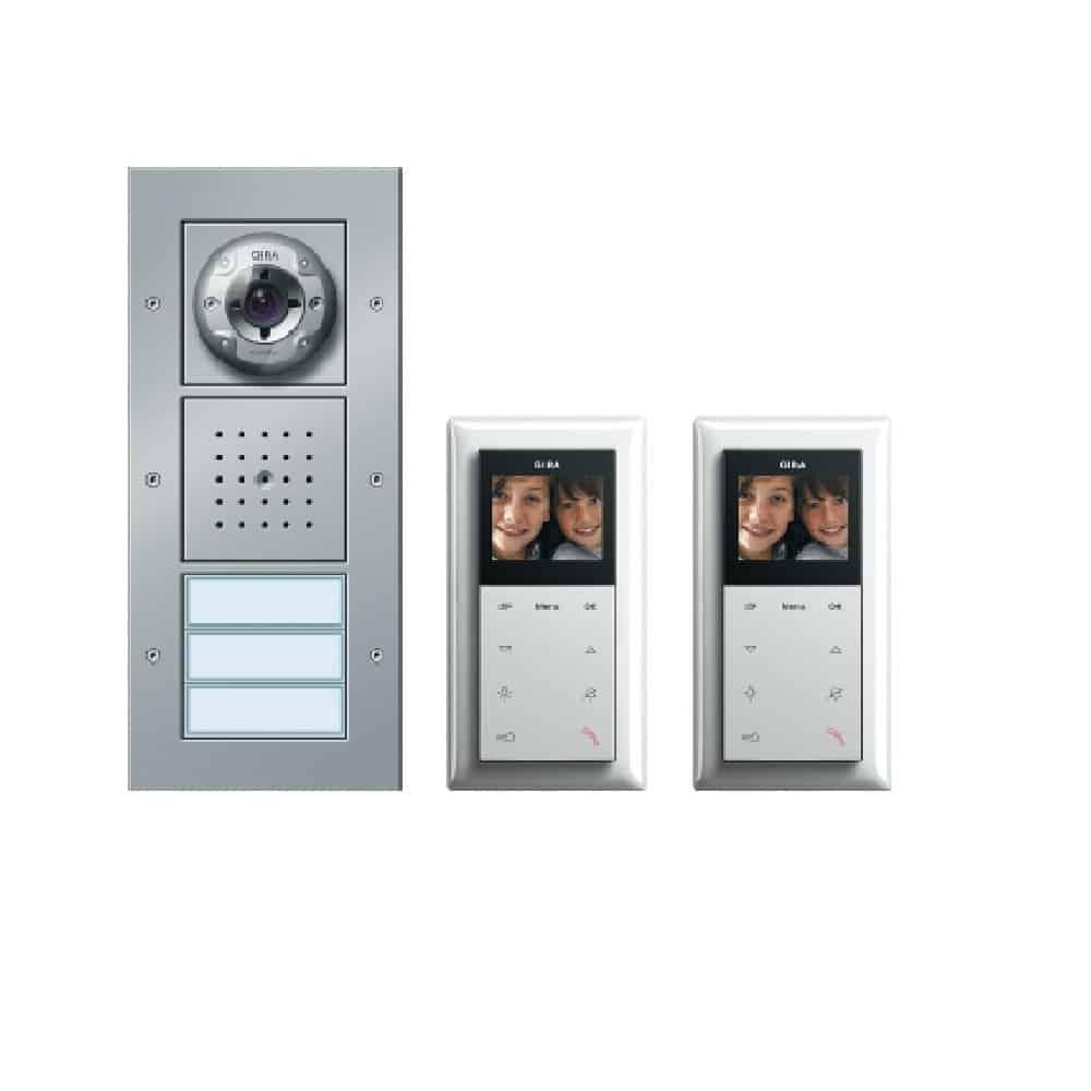 zweifamilienhaus-paket video, türkommunikations-system gira: 049546
